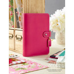 Websters Pages - Color Crush Collection - Personal Planner Binder - Fuchsia
