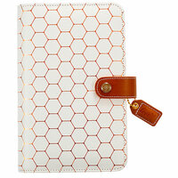Websters Pages - Color Crush Collection - Personal Planner Binder - Copper Hexagon - Binder Only