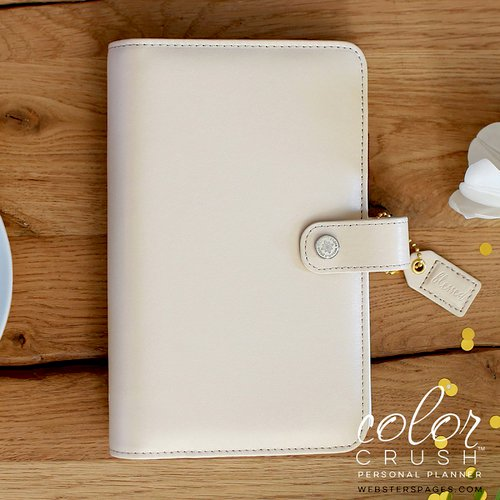 Websters Pages - Color Crush Collection - Personal Planner Binder - Natural