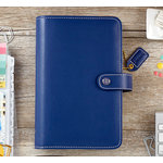 Websters Pages - Color Crush Collection - Personal Planner Binder - Navy