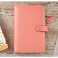 Websters Pages - Color Crush Collection - Personal Planner Binder - Pretty Pink