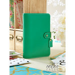 Websters Pages - Color Crush Collection - Personal Planner Binder - Summer Green