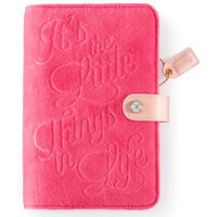Websters Pages - Color Crush Collection - Personal Planner - The Little Things - Binder Only