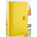 Websters Pages - Color Crush Collection - Personal Planner Binder - Yellow