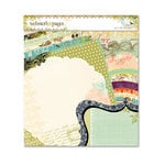 Websters Pages - Vellum and Die Cut Paper Kit - 6 x 6