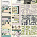 Websters Pages - Hollywood Vogue Collection - 12 x 12 Paper Sampler Kit