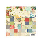 Websters Pages - Petite Papers - 6 x 6 Collection Combo Paper Pack - Spring Market Yacht Club and Country Estate