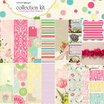 Websters Pages - Girl Land Collection - 12 x 12 Paper Sampler Kit