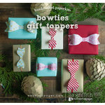 Websters Pages - All That Glitters Collection - Christmas - Handcrafted Home - Bowties
