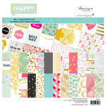 Websters Pages - Happy Collection - 12 x 12 Collection Kit