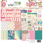 Websters Pages - My Happy Place Collection - 12 x 12 Collection Kit
