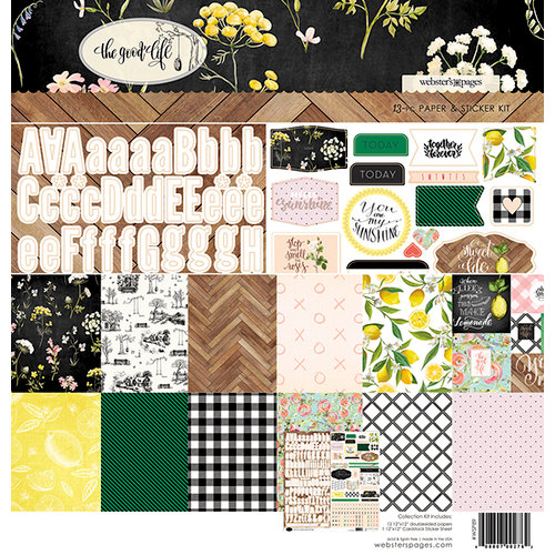 Websters Pages - The Good Life Collection - 12 x 12 Collection Kit