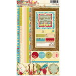 Websters Pages - Garden Gala Collection - Cardstock Stickers - Image and Phrase, CLEARANCE