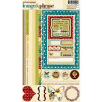 Websters Pages - WonderFall Collection - Cardstock Stickers - Image and Phrase