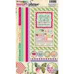 Websters Pages - Sweet Season Collection - Christmas - Cardstock Stickers - Image and Phrase