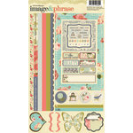 Websters Pages - Country Estate Collection - Cardstock Stickers - Image and Phrase