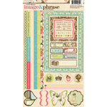 Websters Pages - Ladies and Gents Collection - Cardstock Stickers - Image and Phrase