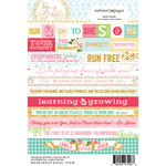 Websters Pages - Growing Up Girl Collection - Cardstock Stickers - Mini Messages - Words