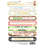 Websters Pages - All That Glitters Collection - Christmas - Cardstock Stickers - Sentiment