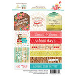 Websters Pages - Hall Pass Collection - Cardstock Stickers - Tags and Prompts