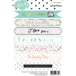 Websters Pages - These Are The Days Collection - Cardstock Stickers - Sentiments