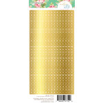 Websters Pages - Make a Wish Collection - Cardstock Stickers - Alphabet - Gold