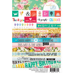 Websters Pages - Make a Wish Collection - Cardstock Stickers - Word