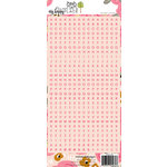 Websters Pages - My Happy Place Collection - Cardstock Stickers - Letters - Pink