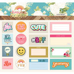 Websters Pages - Changing Colors Collection - Sticker Ephemera Pack