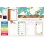 Websters Pages - Changing Colors Collection - Travelers Notebooks - Sticker Wallpaper - Planning