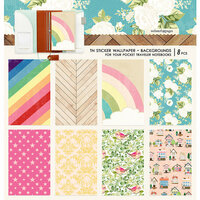 Websters Pages - Changing Colors Collection - Pocket Traveler - Sticker Wallpaper - Backgrounds