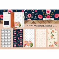 Websters Pages - Love is in the Air Collection - Travelers Notebooks - Sticker Wallpaper - Backgrounds