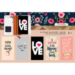 Websters Pages - Love is in the Air Collection - Travelers Notebooks - Sticker Wallpaper - Quotes