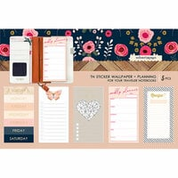 Websters Pages - Love is in the Air Collection - Travelers Notebooks - Sticker Wallpaper - Planning