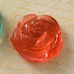 Websters Pages - Sparklers - Non Adhesive Designer Buttons - Rose - Rose