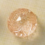 Websters Pages - Sparklers - Non Adhesive Designer Buttons - Medallion - Small - Light Pink