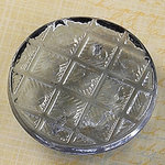 Websters Pages - Sparklers - Non Adhesive Designer Buttons - Vintage 2 - Slate