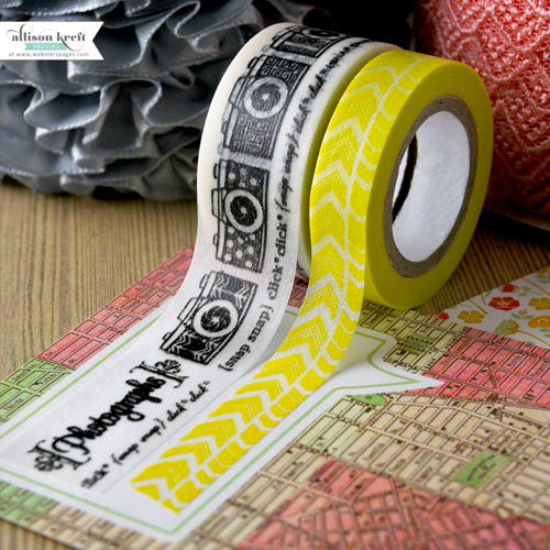 Webster's Pages - Composition and Color Collection - Washi Tape Set