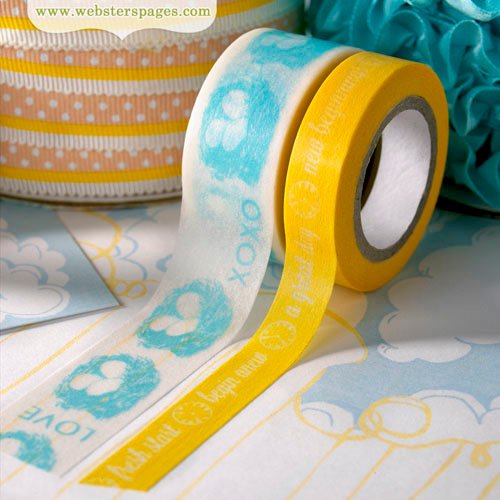 Websters Pages - New Beginnings Collection - Washi Tape Set