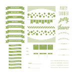 We R Memory Keepers - Letterpress Plates - Whimsy Invite