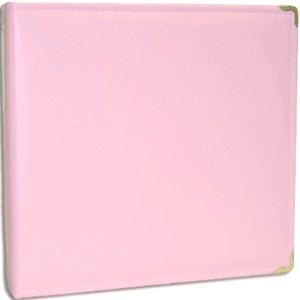 Hiller 3 Ring Albums - 8.5 x 11 - Pale Pink