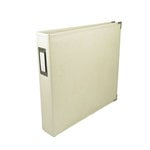 We R Memory Keepers - Classic Leather - 8.5 x 11 - Three Ring Albums - Vanilla