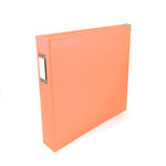 We R Memory Keepers - Classic Leather - 8.5 x 11 - Three Ring Albums - Coral