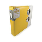 We R Memory Keepers - Designer - 12 x 12 - Three Ring Albums - Yellow Submarine