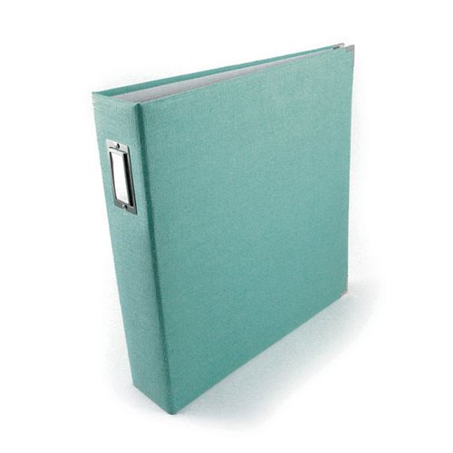 We R Memory Keepers - Linen - 12 x 12 - Three Ring Albums - Aquamarine