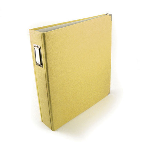 We R Memory Keepers - Linen - 12 x 12 - Postbound Albums - Butter
