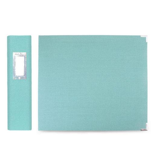 We R Memory Keepers - Linen - 8 x 8 - Three Ring Albums - Aquamarine