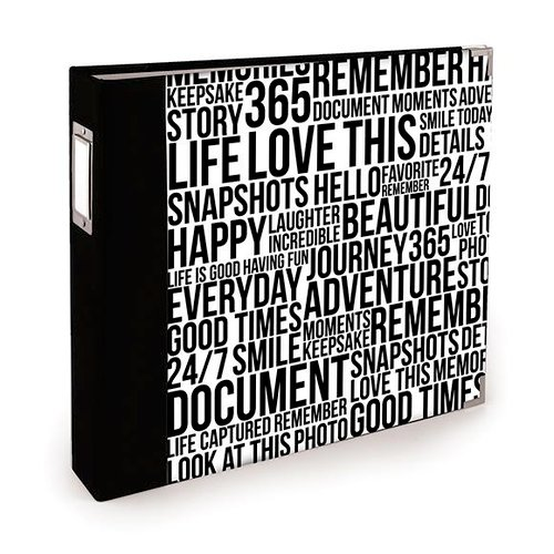 We R Memory Keepers - Teresa Collins - Albums Made Easy - 12 x 12 Three Ring Turned Edge Album - Quoted
