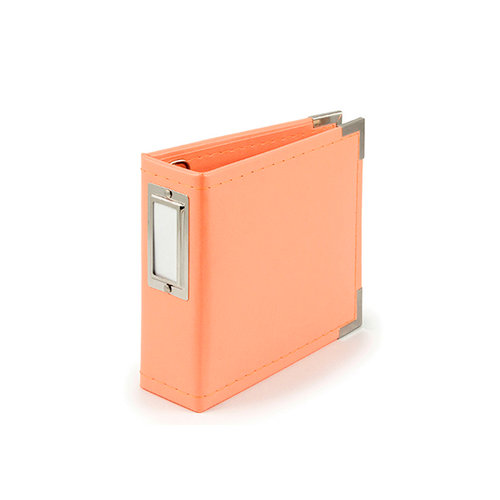We R Memory Keepers - Classic Leather - 4 x 4 - Instagram Albums - Coral
