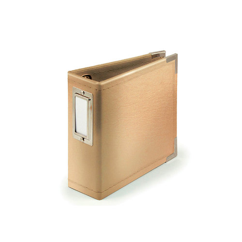 We R Memory Keepers - Classic Leather - 4 x 4 - Instagram Albums - Gold